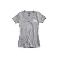 100% Shirt Saga Women's gris